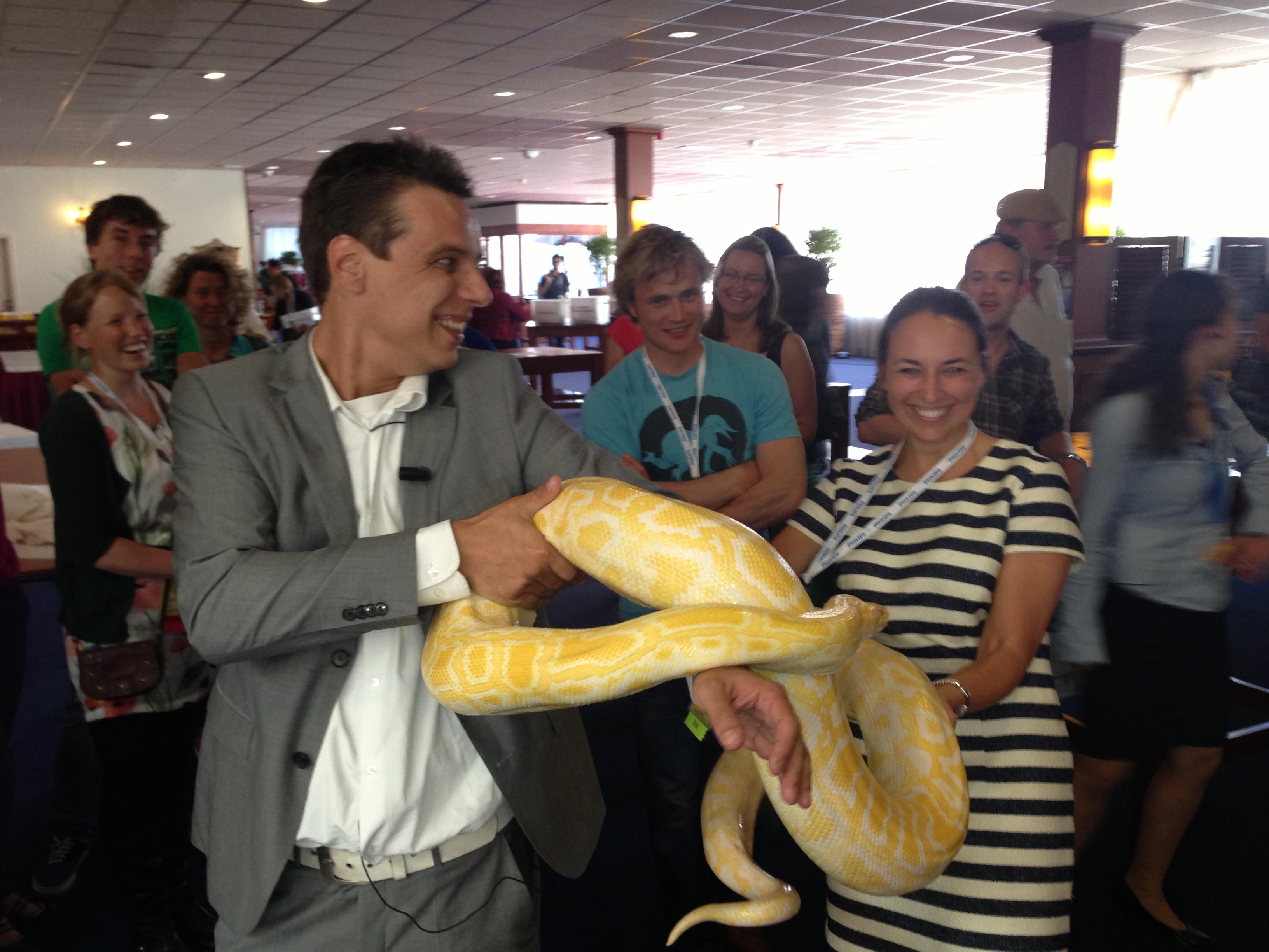 Snake bites lezing NVSHA