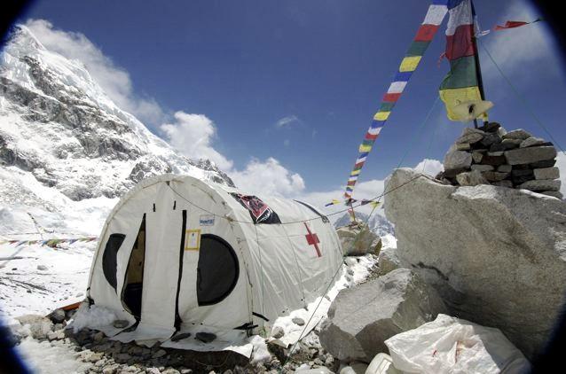 Everest ER is aan het inpakken